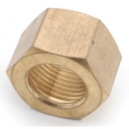 Brass 1/4 compression nut