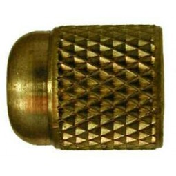 Finger tight cap 1/4