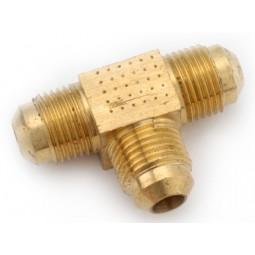 Brass (3) 1/4 MFL tee