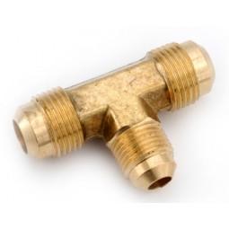Brass (2) 1/4 x 3/8 MFL reducing tee