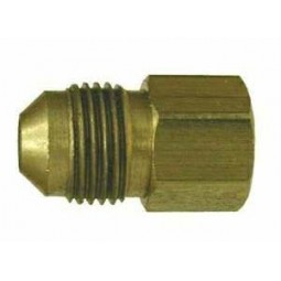 Brass adapter 1/4 MFL x 1/4 FPT