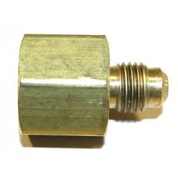 Brass adapter 1/4 MFL x 3/8 FPT