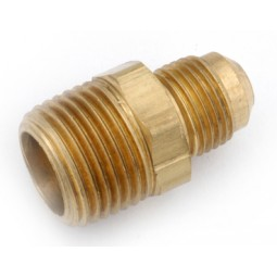 Brass adapter 3/8 MFL x 1/2 MPT