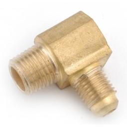 Brass elbow 1/4 MFL x 1/2 MPT