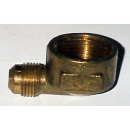 Brass elbow 3/8 MFL x 3/4 FPT
