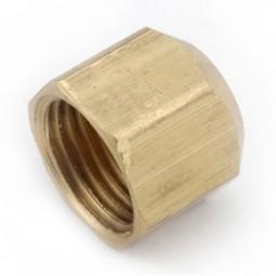 Brass cap 1/4 FFL