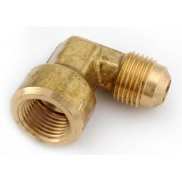 Brass elbow 1/4 MFL x 1/4 FFL