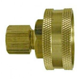 Swivel 3/4 FGH x 3/8 compression