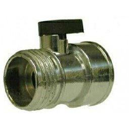 Zinc alloy shut-off 1 lever (2) 3/4