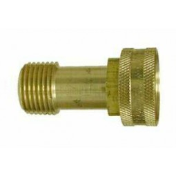 Swivel adapter 3/4 FGH x 1/2 MPT