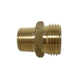 Brass A-665 adapter, low lead