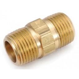 Brass nipple 3/4 MPT x 3/4 MPT