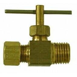 Needle valve 3/8 compression x 1/4 MPT