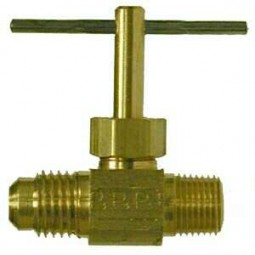 Needle valve 3/8 MFL x 1/4 MPT