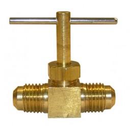 Brass needle valve 1/4 MFL