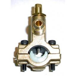 Saddle valve heavy duty 3/8 MFL outlet, 5/8-7/8 OD tubing