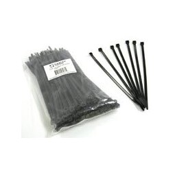 "Cable ties 15"" black 120 lb test"