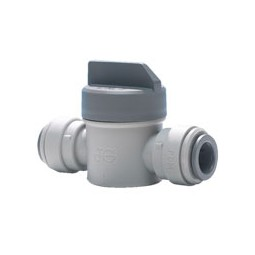 Shut-off valve short handle 3/8