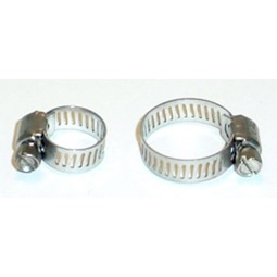 Adjustable hose clamp 3/8 - 7/8""