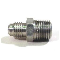 Adapter 1/4 MFL x 1/8 MPT SS
