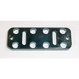 Button plate, 10, black