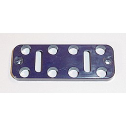 Button plate, 10, blue