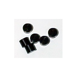 Button plug, black