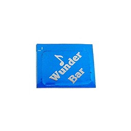 Handle label, Wunder-Bar, blue
