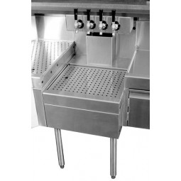 "Underbar SS beer drainer 24""W x 24""D"