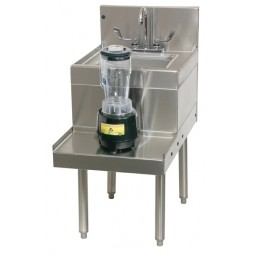 "Underbar SS blender station with sink 18""W x 29""D"