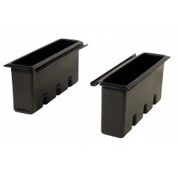 "Underbar plastic bottle well for 24"" deep ice bin"