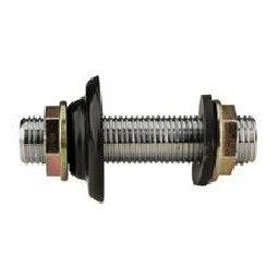 "Wall coupling for coil cooler, 3/8"" bore"