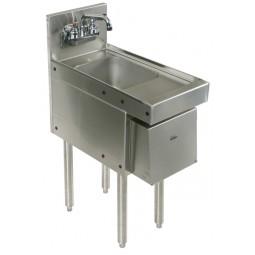 """Underbar SS hand sink 12""""W x 24""""D"""
