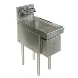 """Underbar SS hand sink 18""""W x 24""""D"""