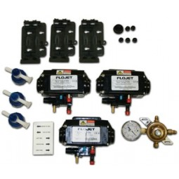FBD install kit, 2 barrel, bottle CO2 system