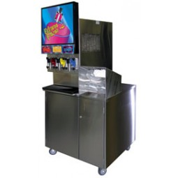 "Self serve cart for FBD 563/773, ""plumbed"""