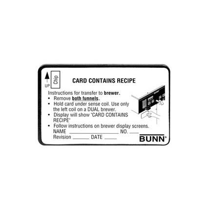 BrewWISE Recipe Card