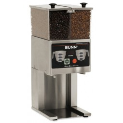 FPG2 DBC, French press grinder, 2 hoppers, digital touch-pad and LCD readout