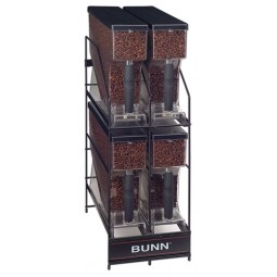 MHG 4 position hopper storage rack
