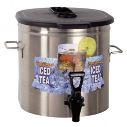 TDO3.5 oval low profile with brew-thru lid 3.5 gallon (13.2L)