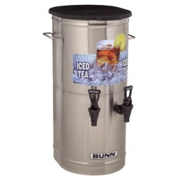 TCD2, tea concentrate dispenser, 2 faucets
