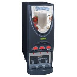 iMIX-3 powdered beverage dispenser, top hinge