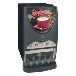 iMIX-5S+ powdered beverage dispenser, top hinge