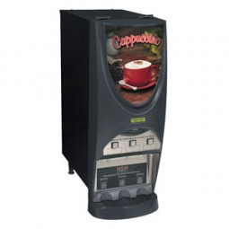 iMIX-3S+ powdered beverage dispenser, top hinge