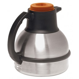 1.9 liter thermal carafe, orange lid, 12/case
