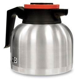 1.9 liter economy thermal carafe, orange lid, 12/case