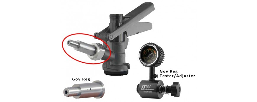 Gov Reg™ - Simple, Durable, Adjustable Secondary Regulator for Draft Beer